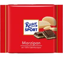 One of my favourite brands of chocolate-covered marzipan.