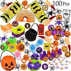 JOYIN Over 600 Pieces Halloween Craft Assortment Kit Including Halloween Temporary Tattoos Halloween Stickers Halloween Stampers Foam Stickers for Halloween Party Faovrs Halloween Craft Supplies