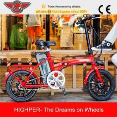 250 W Barato Pequeña Bicicleta Plegable Eléctrica, Barato Bicicleta Eléctrica con EN15194 (EF01S-3)