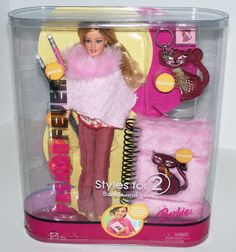 2005 Fashion Fever Barbie Doll Styles for 2 H8575 for Barbie and You New | eBay