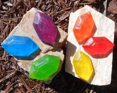 Legend Of Zelda Rupee Soap. $5 Etsy