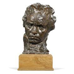 Simon Charles Foucault (1884- ), Buste de Beethoven.