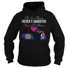This matching father and daughter shirt will be a great gift for you or your friend: The Love Between Father and Daughter Knows No Distance - Nebraska Michigan Tee Shirts T-Shirts