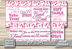Hey, I found this really awesome Etsy listing at https://www.etsy.com/listing/231560330/baby-shower-signs-baby-shower-table