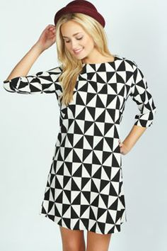 Fun prints can be the best way to camouflage stains and any lumps and bumps you want to distract from