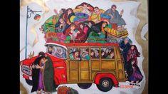 Iraqi artist wasma alagha