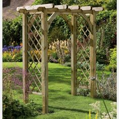 50 Beautiful Garden Arbor Ideas To Build Yourself To Complete Your Landscape | Wooden Garden Arches | #garden_arbor #landscaping