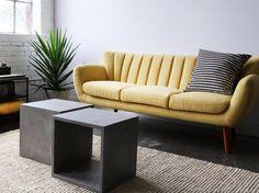 Nova 3 Seater Sofa from Furniture Maison - Modern, Mid-Century and Scandinavian Mid Century Modern Sofa, Mid Century Sofa, Mid Century Modern Furniture, Sofa Furniture, Furniture Making, Furniture Design, Sofa Shop, Contemporary Sofa, 3 Seater Sofa