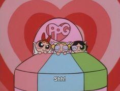 The Powerpuff Girls Cartoon Memes, Cartoon Icons, Girl Cartoon, Cartoon Heart, Cartoons, Wallpaper Iphone Cute, Girl Wallpaper, Blossom Bubbles And Buttercup, Super Nana