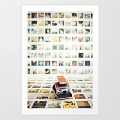 Polaroid Wall Art Print by Kevin Russ -