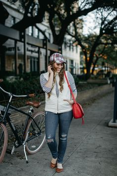 Layering clothes in the winter