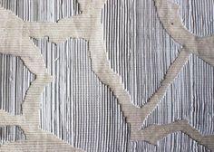 silicone print on cotton corduroy