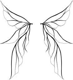 fairy wings, wings drawing and wings clipart Fairy Wings Drawing, Fairy Drawings, Diy Fairy Wings, Unique Drawings, Fairy Wing Tattoos, Tinkerbell Wings, Tinkerbell Drawing, Tatoo Art, Fairy Art