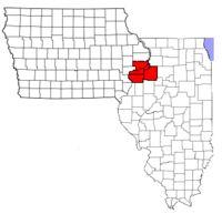 Heres a map of the Quad City Area  QCA  Quad Cities