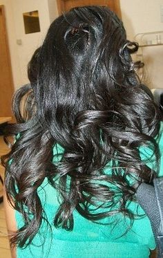 #Long #Relaxed #Hair | Relaxed Hair Regime | Nadia's Notes - gorgeous