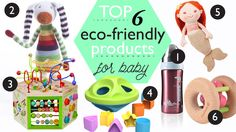 Top 6 Earth-Friendly Toys & Gear for Baby