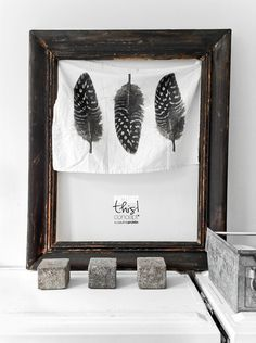 © Paulina Arcklin | Blog post: DIY frame with kitchen towel