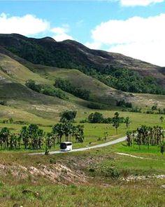 Camino a Santa Elena de Uairen Bolívar adentro Venezuela mágica