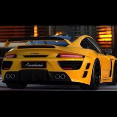 cool Porsche 911 attack anibal!! Hot Yellow!... Luxury Car Lifestyle Check more at http://autoboard.pro/2017/2017/01/29/porsche-911-attack-anibal-hot-yellow-luxury-car-lifestyle/