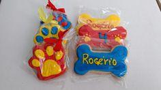 Biscoitos decorados patrulha canina