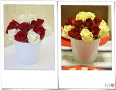 Arranjo Floral | American Dinner | 2013 | Realização e Foto: Fabiana Bellentani
