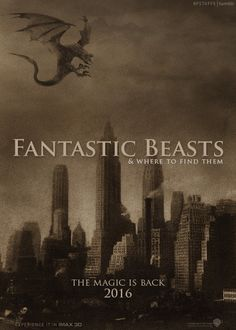"""hpstuffs:  """" Countdown: Two years to Fantastic Beasts & Where to Find Them.  """""""