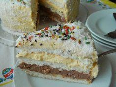 Krispie Treats, Rice Krispies, Easy Cake Recipes, Vanilla Cake, Coconut, Cooking Recipes, Sweets, Fantasy, Desserts