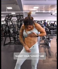 Target your lower abs. Effective Lower Abs workout for women. by IG: Fitness Workouts, Abs Workout Routines, Sport Fitness, Body Fitness, Physical Fitness, Workout Videos, At Home Workouts, Fitness Weightloss, Female Fitness