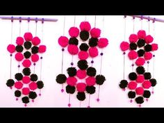 how to make decorative wall hangings with bangles