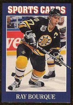 1992 Allan Kaye's Sports Cards News Magazine Ray Bourque Ice Hockey Teams, Sports Teams, Ray Bourque, National Hockey League, Trading Card Database, News Magazines, Boston Bruins, Trading Cards, Nhl