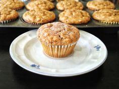 20130619-223120.jpg  Peanutbutter oatmeal banana muffins.No butter or oil