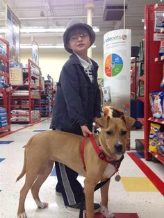 Rescued pitbull puppy helps 8 year old autistic boy  I love positive pitbull stories!!