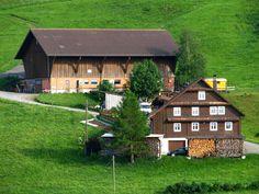 Farmhouse in Einsiedeln, Switzerland