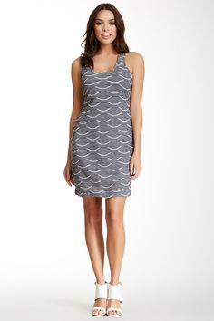 Max Studio Scalloped Racerback Dress by Max Studio 82% Off ~ $17.54 #Gift #Christmas #Shopping