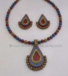 www.luxscorner.com/ Hand made Polymer Clay Jewelry by Laxmi Jayaraj (Lux)!!