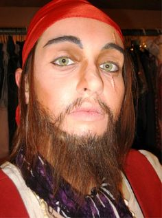 Pirate Stage Makeup