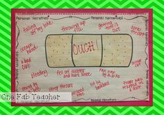 Personal Narratives (ouch) anchor chart