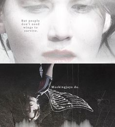 Katniss is the Mockingjay