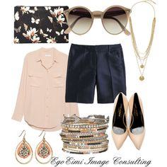 Untitled #39 by mesha-echevarria on Polyvore featuring polyvore fashion style Equipment J.Crew Yves Saint Laurent Givenchy Vince Camuto maurices Ray-Ban