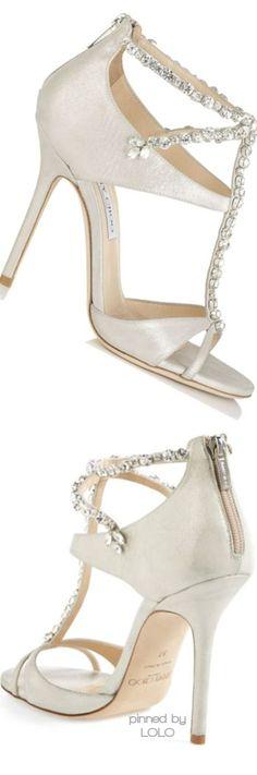 Jimmy Choo 'Faiza' T-Strap Sandal | LOLO   latest shoes and hand bags