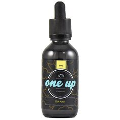 "One Up Vapor Sour Power 60ml - This is one mixture of tropical fruits (Guava, Watermelon, Peach) that is so freaking good, that we decided to name the flavor ""Orgasm"". The flavor is not too sweet and is an all day vape. An all day orgasm….. humm…. what a thought!70% VGShips from OneUp Vapor - California"
