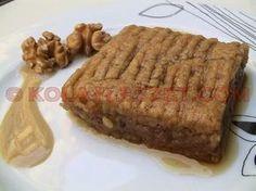 NEVZİNE-TATLISI-(Kayseri) Turkish Sweets, Bakery Cakes, Turkish Recipes, Food Facts, Iftar, Meatloaf, Steak, Deserts, Food And Drink