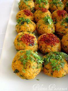 Turkish Lentil Meatballs (mercimekli kfte) #cooking #recipe
