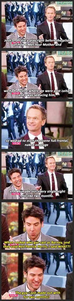 How I Met Your Other Father... starring Josh Radnor and Neil Patrick Harris