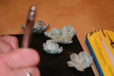 Her er hvad du skal bruge.  Jeg har brugtdette blomster punch sæt http://1417959.shop11.dandomain.dk/shop/punchset-flower-5036p.html  min...