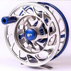 NuCast Blue Crush 8+ Fly Reel - Anglers Addiction  - 1