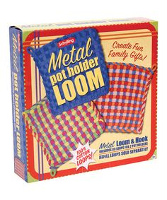 This Potholder Loom by Schylling is perfect! #zulilyfinds