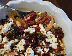 A Squared: What's For Dinner Wednesday: Sun Dried Tomato & Feta Baked Shrimp