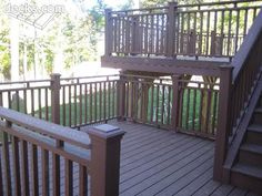 Multi level deck-this is exactly what I have in mind for our house!