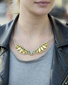 sunburst necklace jewelry #fashion fashion jewelry 2014